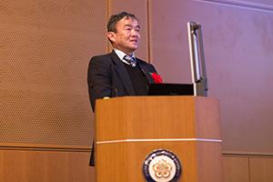 講演者 三浦宏之先生